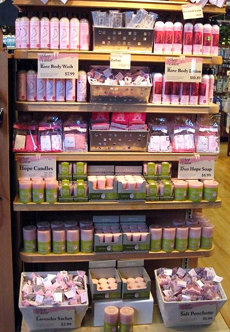 breast cancer products in whole foods market